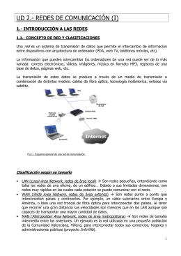 UD 2.- REDES DE COMUNICACIÓN (I)