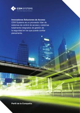 Innovadoras Soluciones de Acceso CEM Systems es un proveedor