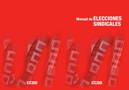 2.- Manual Elecciones Sindicales 2014
