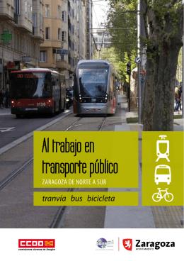Al trabajo en transporte público