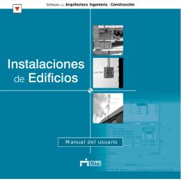 Guía de Instalaciones de edificios