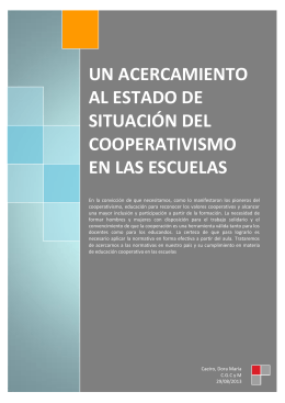 4.2.1. Implementación del cooperativismo en todos los niveles de