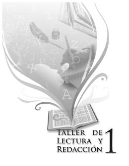 Taller de Lectura y Redacción 1 - Colegio de Bachilleres del Estado