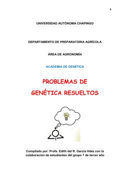 problemas de genética resueltos