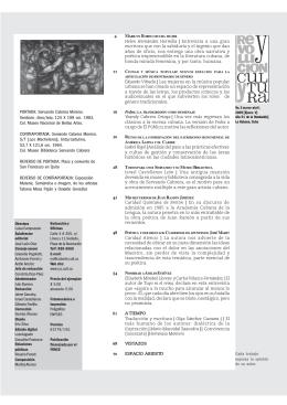 4.6 Mb No. 2 marzo - abril 2009 - Revolución y Cultura