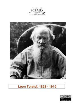 Léon Tolstoï, 1828 - 1910 - Bibliothèque municipale de Sceaux
