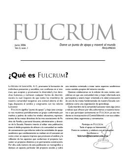 revista-fulcrum7 - La Escuela de Lancaster AC