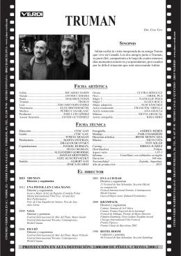 TRUMAN - Fitxes Cinemes Verdi Barcelona