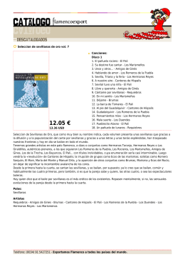 12.05 € - Flamenco Export