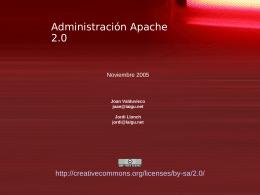 Administración Apache 2.0