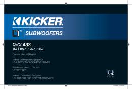 2015 L7 Subwoofers Manual Rev G.indd