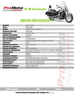 vulcan 900 classic lt