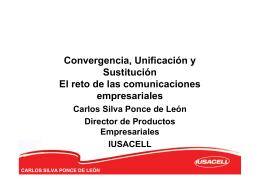 Carlos Silva, Iusacell