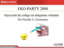 EKO-PARTY 2008 - Core Security