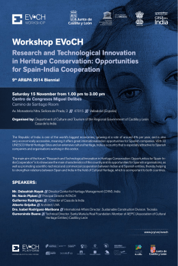 Research and Technological Innovation in Heritage Conservation