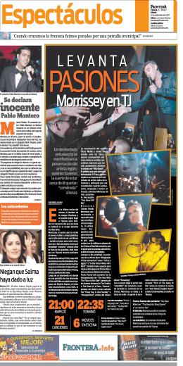 Morrissey en TJ