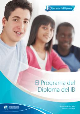 El Programa del Diploma del IB
