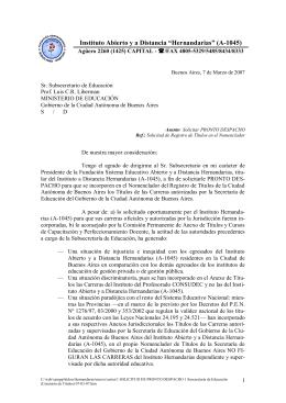 """Instituto Abierto y a Distancia """"Hernandarias"""" (A"""