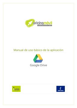 Manual básico Google Drive