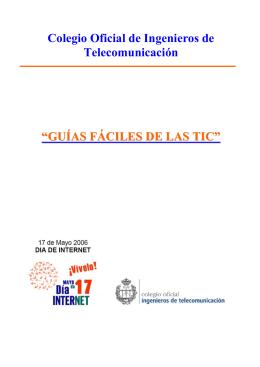 guías fáciles de las tic - Colegio Oficial Ingenieros de