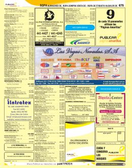 """de cada 10 panameños utilizan las """"Páginas Amarillas"""" CUIDA Y"""