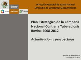 Campaña Nacional contra la Tuberculosis bovina Mexico