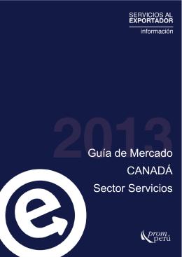 Guía de Mercado Canadá 2013