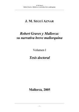 Robert Graves y Mallorca - Biblioteca Digital de les Illes Balears