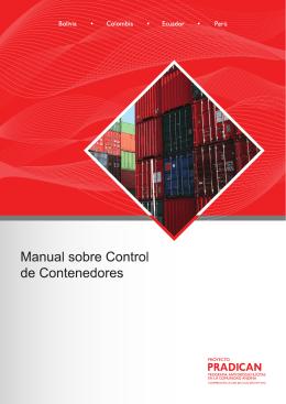 Manual sobre Control de Contenedores