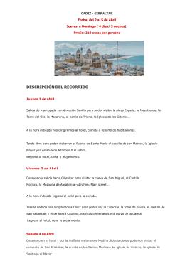 cadiz- gibraltar 2 - 5 abril 2015