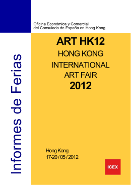 Hong Kong International Art Fair 2012