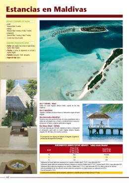 Islas Maldivas -  Viajes Monteverde