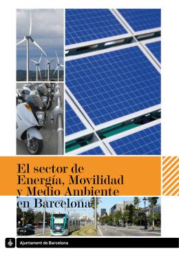 El sector de Energía, Movilidad y Medio Ambiente en Barcelona