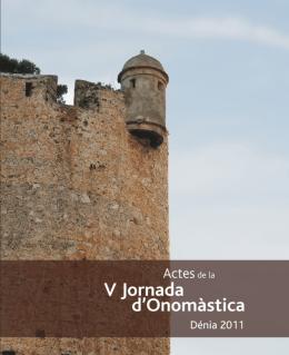 Actes de la V Jornada d`Onomàstica. Dénia, 2011 | AVL