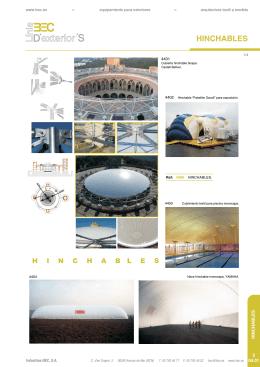 Hinchables - Arquitectura textil a medida
