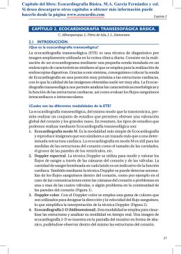 capítulo 2. ecocardiografía transesofágica básica