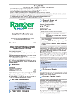 Ranger Pro Herbicide - Do My Own Pest Control