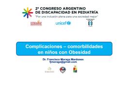 Obesidad y trastornos relacionados. Dr. Francisco Moraga Mardones