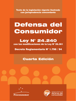 Defensa del Consumidor - Consumers International