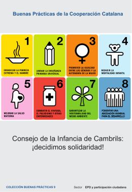 Consejo de la Infancia de Cambrils: ¡decidimos solidaridad!
