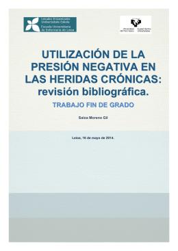 revisión bibliográfica.