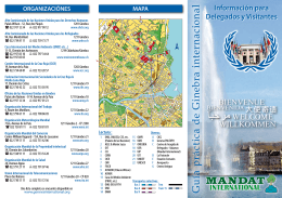 Guía práctica de Ginebra Internacional