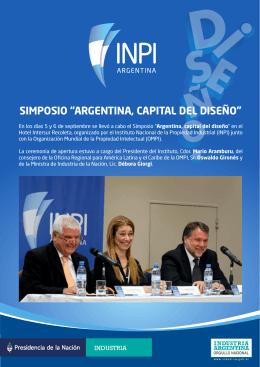 "simposio ""argentina, capital del diseño"""