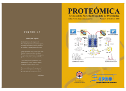 proteómica - CBM/UAM - Universidad Autónoma de Madrid