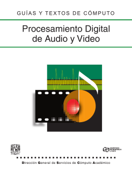 Edición Digital de Audio y Video