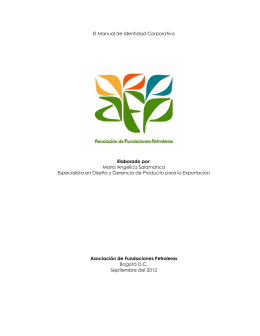 Manual de Identidad Corporativa Afp