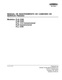 FLA COE, FLB COE, FLC112 Convencional, FLD Convencional