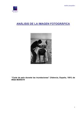 trabajo analisis de una fotografia Cristina Gonzalez Oñate