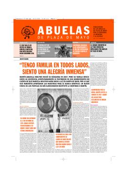mensuario 87-web.qxp - Abuelas de Plaza de Mayo