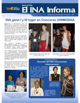 El INA Informa